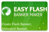 Flash banner sample